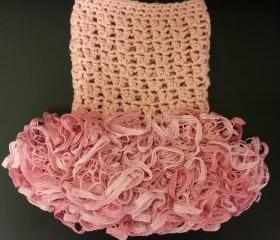 Crochet Petti Romper/photo prop/Full Ruffle
